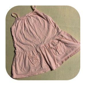5/$10 GAP cotton dress girls 18-24M